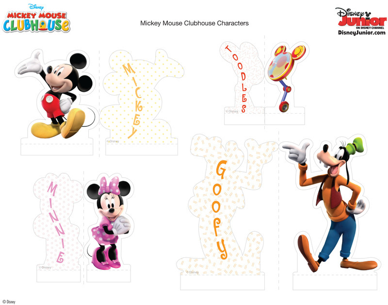 Anniversaire theme mickey page 2 for 7 a la maison personnage