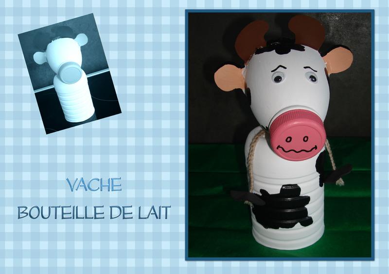 vache bouteille de lait